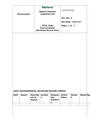 DAILY ENVIRONMENTAL DEVIATION RECORD FORMAT  Rev1 on 05-01-2013.docx
