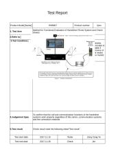 150 Method for Functional Evaluation of Handsfree Phone System and Check Sheets.xlsx