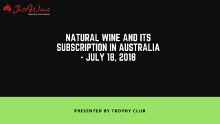 Natural wine and its subscription in Australia.pdf