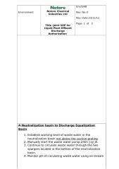 Joint SOP for Liquid Plant Effluent Discharge Authorization 1 Rev1 on 05-01-2013.doc
