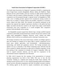 South Asian Association for Regional Cooperation (SAARC).doc