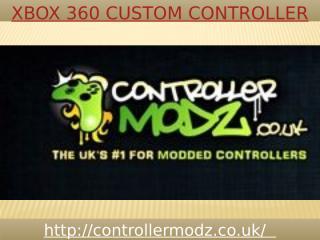 Xbox 360 custom controller.pptx