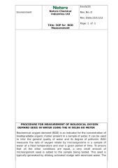 SOP for BOD Measurement Rev1 on 05-01-2013.doc