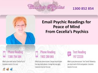 Email Psychic Readings for Peace of Mind From Cecelia's Psychics.pdf