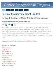 4- Pakistan's Militant Leaders.PDF