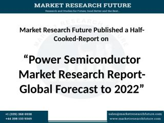 Power Semiconductor Market Research Report-.pptx