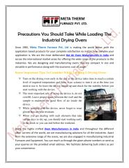 Precautions-You-Should-Take-While-Loading-The-Industrial-Drying-Ovens.pdf